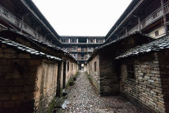 Hakka Enclosed located in China Stock Photography
