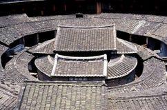 Hakka-Erde-Gebäude in China Lizenzfreies Stockbild