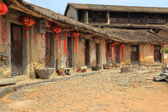 Hakka roundhouse in raoping, guangdon, china Royalty Free Stock Photography