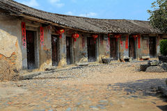 Hakka roundhouse in raoping, guangdon, china Royalty Free Stock Photos