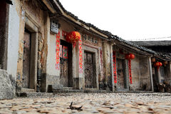 Hakka roundhouse in raoping, guangdon, china Stock Photo