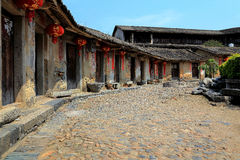 Hakka roundhouse in raoping, guangdon, china Stock Image