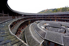 Hakka Roundhouse tulou Royalty Free Stock Images