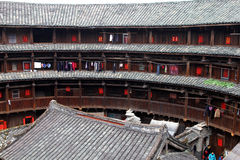 Hakka rounds. The famous house building of hakka in China Stock Images