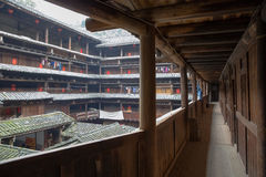 Hakka tulou located in fujian, china Stock Photos