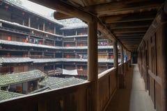 Hakka tulou located in fujian, china Stock Photos