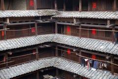 Hakka tulou located in fujian, china Stock Photography