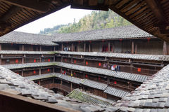 Hakka tulou located in fujian, china Royalty Free Stock Photos