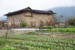 Hakka tulou located in fujian, china Stock Image