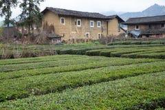 Hakka tulou located in fujian, china Royalty Free Stock Photos