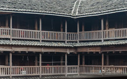 Hakka Tulou traditional Chinese housing in Fujian Province of Ch Stock Photos