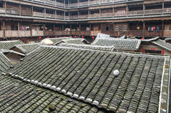 Hakka Tulou traditional Chinese housing in Fujian Province of Ch Royalty Free Stock Image