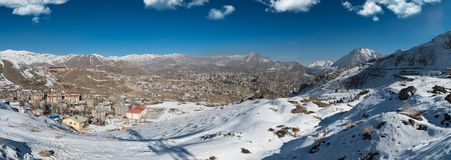 Hakkari City - Turkey. The south eastern province of Turkiye. The winters are hard and profitable Hakkari.. Daily life in Hakkari in Turkey-Iran border in Royalty Free Stock Photography
