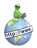 Hakker Royalty-vrije Stock Afbeelding