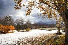 Hakkoda Mountains Stock Photo
