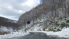 Hakkoda Mountains stock footage