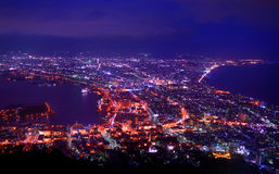 Hakodate Bay, Japan Royalty Free Stock Photography