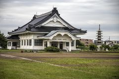 Hakodate City Hall Children`s Mirai Department Memorial Hall royalty free stock photography
