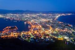 Hakodate Cityscape Royalty Free Stock Photo