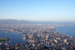 Hakodate Cityscape from Hakodate Royalty Free Stock Image