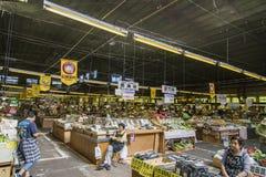 HAKODATE, JAPAN - JULY 20 Original Jaoanese Morning market on Ju Stock Photo