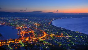 Hakodate, Japan View Royalty Free Stock Photography