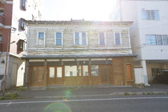 Hakodate Kanemori Red Brick Warehouse District Royalty Free Stock Images