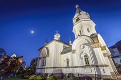 Hakodate Orthodox Church Stock Photography