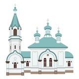 Hakodate Russian Orthodox Church.  Royalty Free Stock Photos