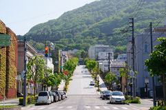 Hakodate slope Royalty Free Stock Photography