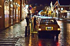 Hakodate ulicy scena Obraz Royalty Free