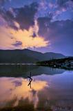 Hakone 5 lagos Imágenes de archivo libres de regalías