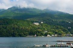 Hakone and Ashi lake shore Royalty Free Stock Images