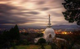 Hakone buddistisk tempel royaltyfri fotografi
