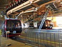 Hakone-Drahtseilbahn, Hakone, Japan Stockfotos