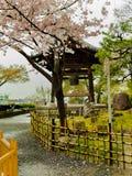 HAKONE JAPAN - JULI 02, 2017: Higashiyama område med körsbärsröda blomningar våren i Kyoto Arkivfoto