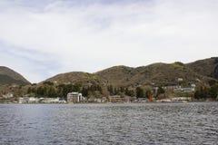 Hakone, lagos japan y ciudad Foto de archivo libre de regalías