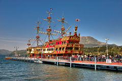 Hakone Pirate ship Royalty Free Stock Image