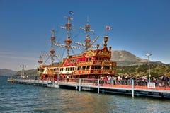 Hakone Pirate ship Royalty Free Stock Image