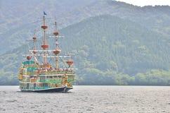 Hakone Pirate Ship Stock Photo