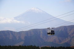 Hakone Rope Way Stock Photo