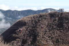 Hakone Ropeway Royaltyfri Fotografi