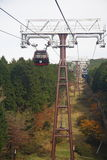 Hakone-Seil-Methode Lizenzfreie Stockfotos