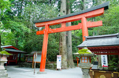 Hakone shrine Royalty Free Stock Images