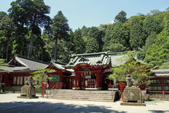 Hakone shrine Stock Photos