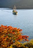 Hakone Sightseeing Cruise at Ashi Lake Stock Photos