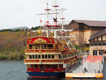 Hakone Sightseeing Cruise Royalty Free Stock Image