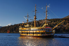 Hakone Sightseeing Cruise Royalty Free Stock Images