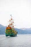 Hakone sightseeing pirate cruise ship The Vasa on Ashi lake Royalty Free Stock Photography