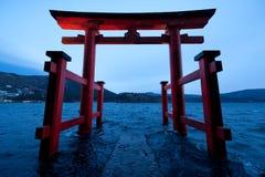 Hakone Torii imagem de stock